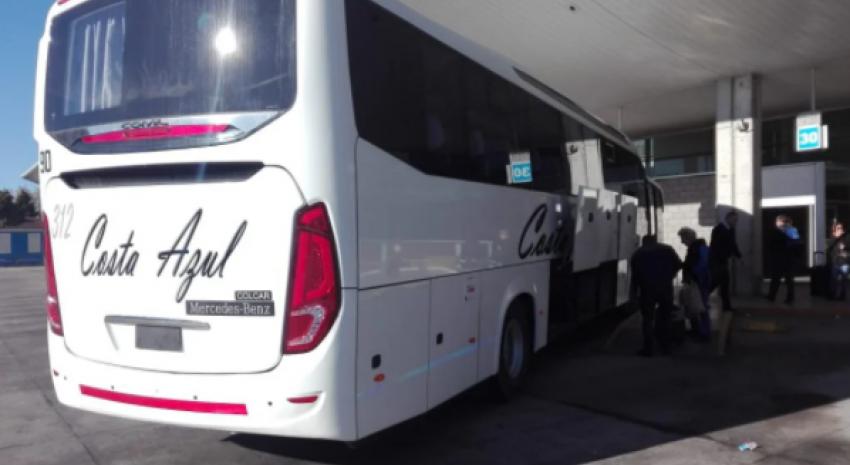 Te mostramos el recorrido completo del colectivo hacia Mar del Plata