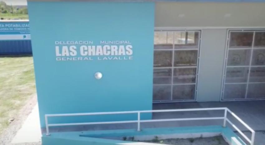 Mañana será la inauguración edilicia de la Delegación de Las Chacr